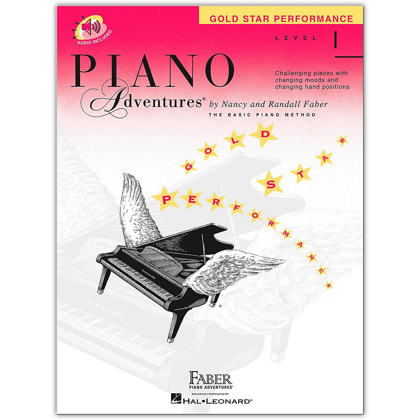 Faber Piano Adventures Piano Adventures Gold Star Performance Level 1 - Faber Piano (Book/Online Audio) thumbnail