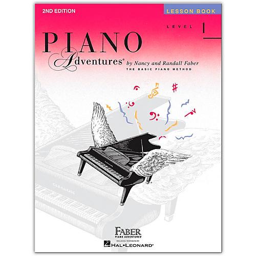 Faber Piano Adventures Piano Adventures Lesson Book Level 1 thumbnail