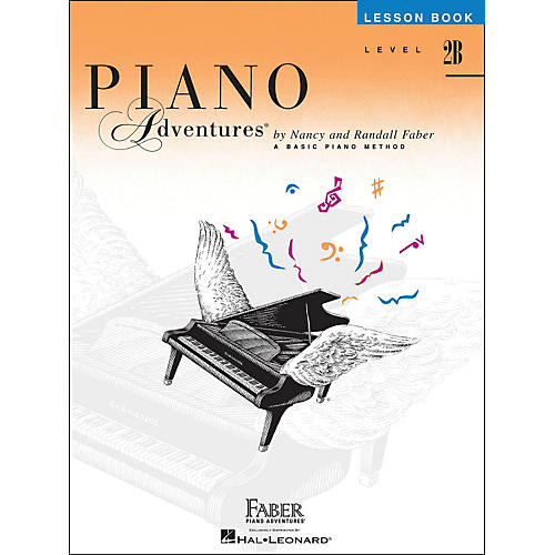 Faber Piano Adventures Piano Adventures Lesson Book Level 2B thumbnail