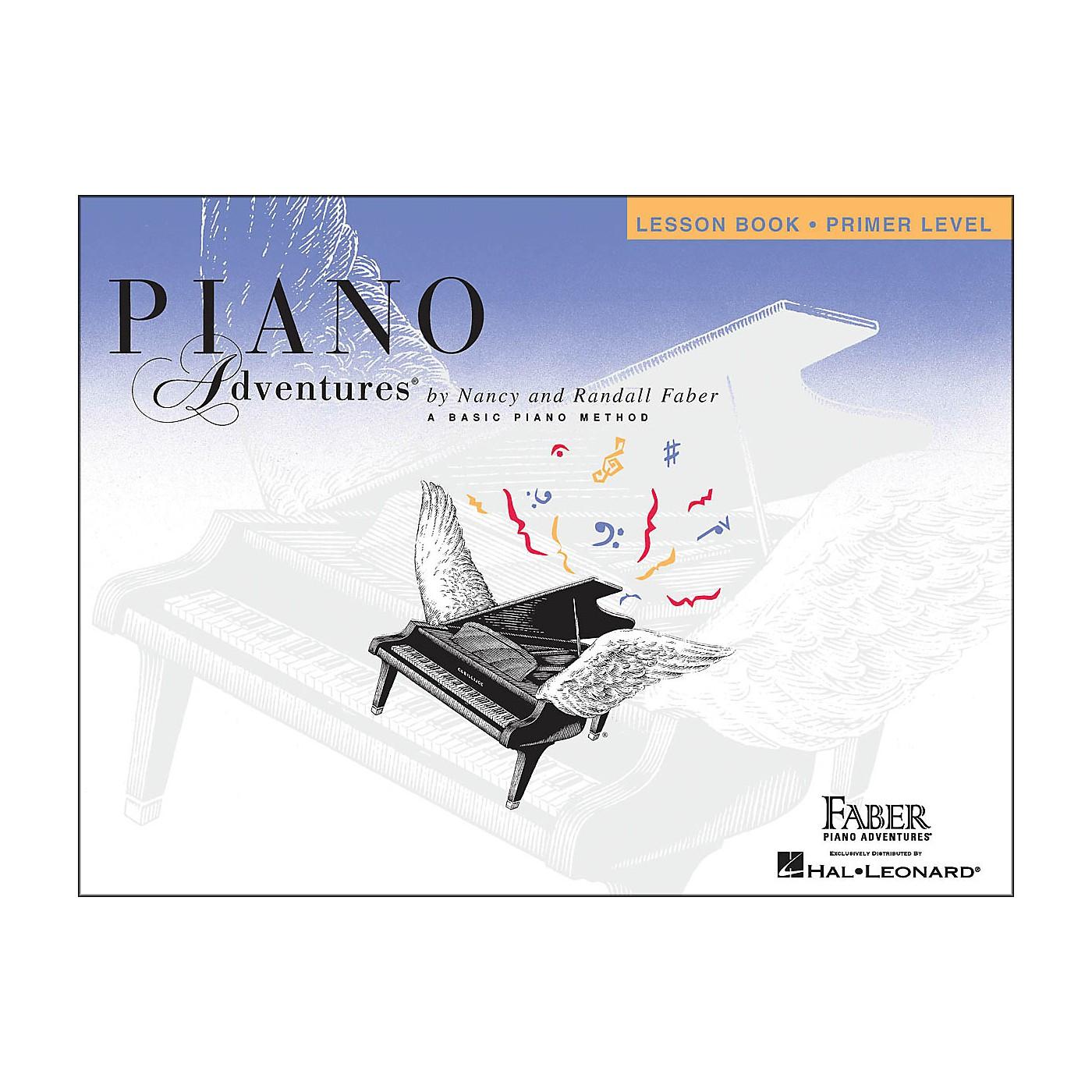 Faber Piano Adventures Piano Adventures Lesson Book Primer Level thumbnail