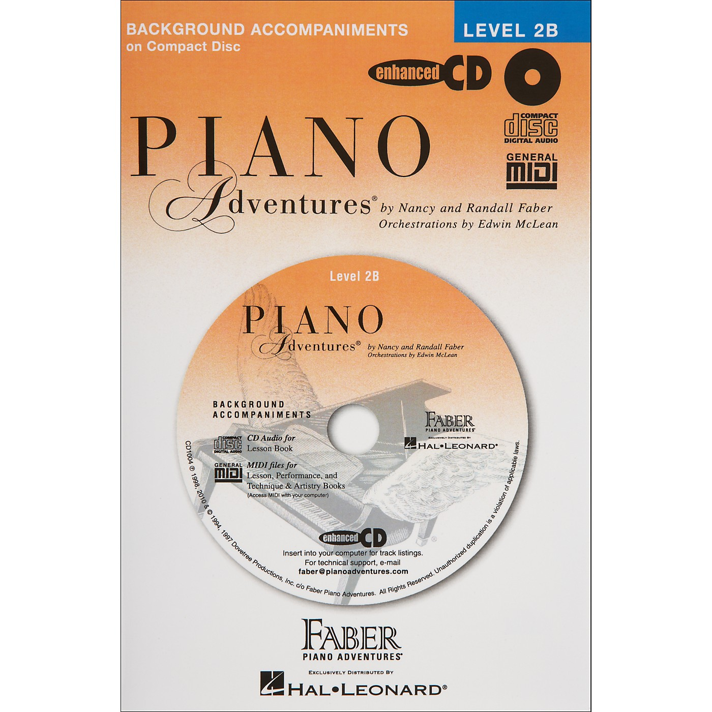 Faber Piano Adventures Piano Adventures Lesson CD for Level 2B - Faber Piano thumbnail