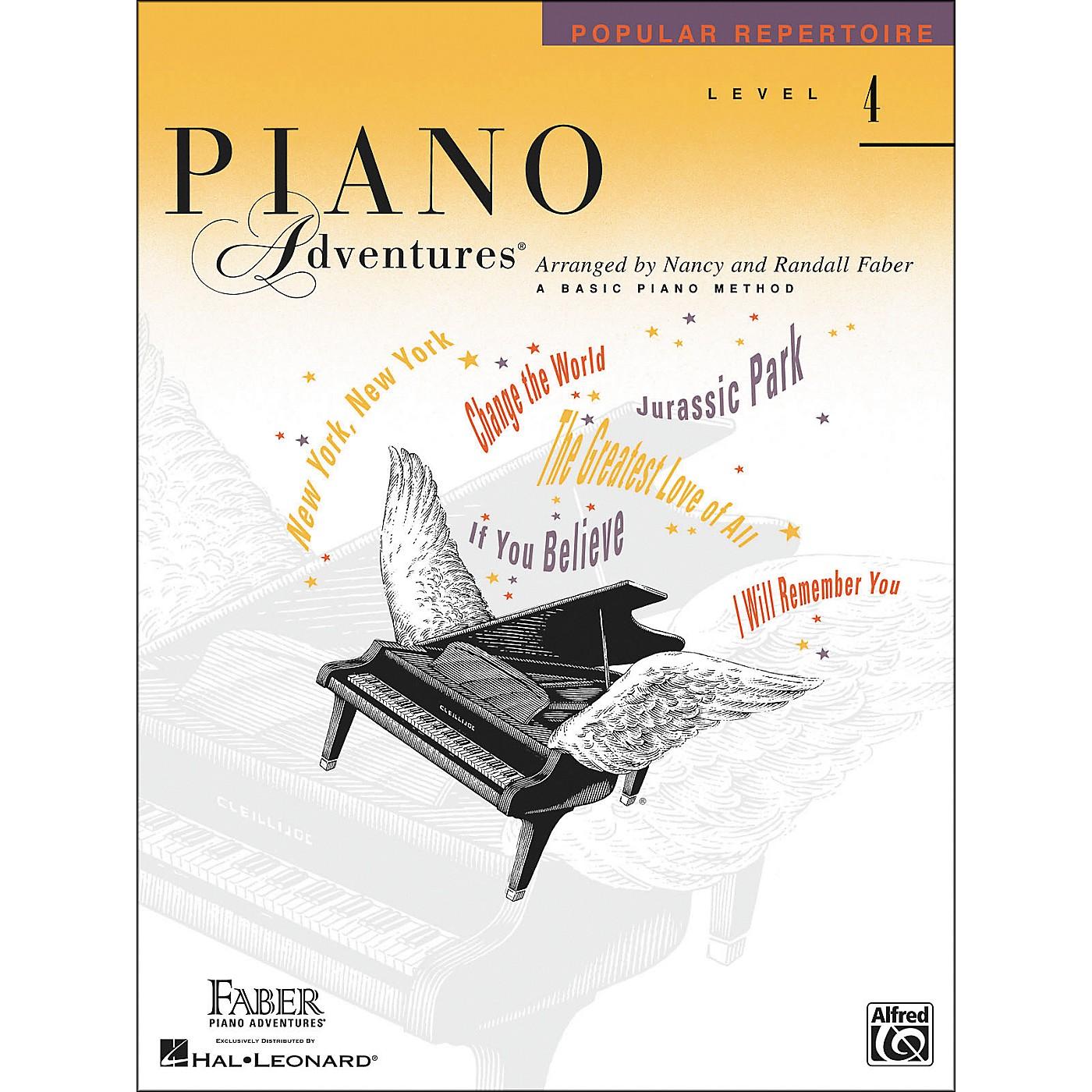 Faber Piano Adventures Piano Adventures Popular Repertoire Level 4 - Faber Piano thumbnail