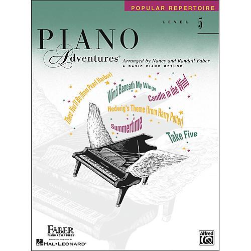 Faber Piano Adventures Piano Adventures Popular Repertoire Level 5 - Faber Piano thumbnail