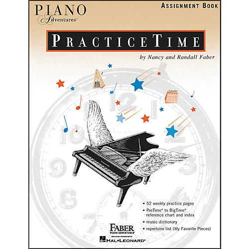 Faber Piano Adventures Piano Adventures Practice time assignment Book - Faber Piano thumbnail