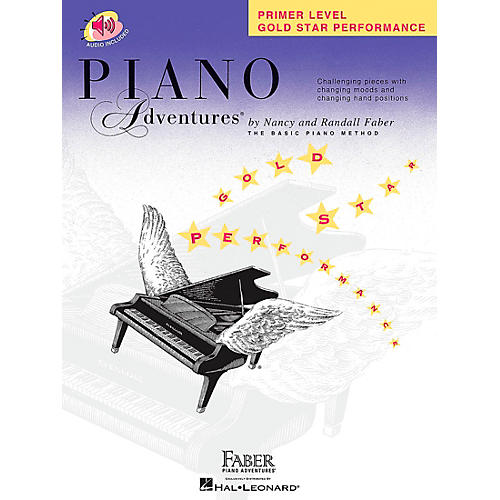 Faber Piano Adventures Piano Adventures Primer Level Gold Star Performance Book/CD - Faber Piano thumbnail