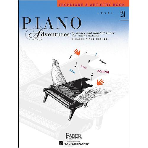 Faber Piano Adventures Piano Adventures Technique & Artistry Book Level 2A thumbnail