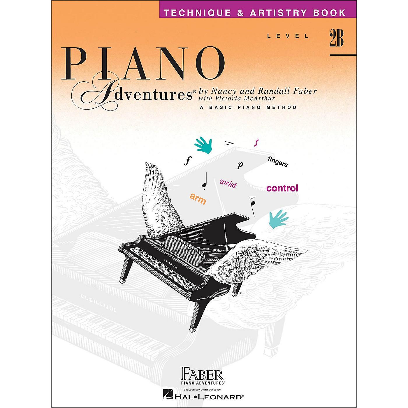 Faber Piano Adventures Piano Adventures Technique & Artistry Book Level 2B thumbnail
