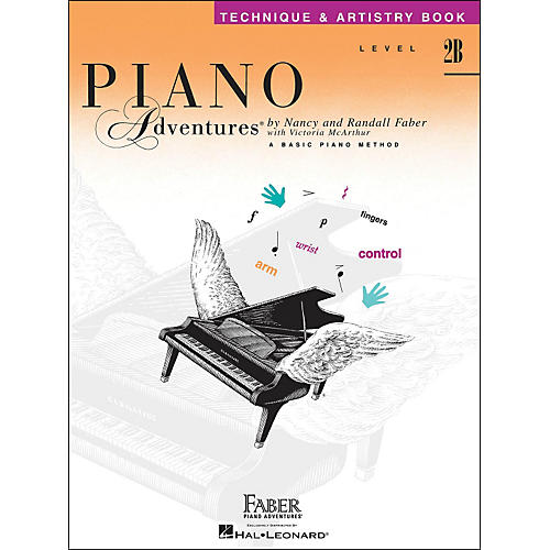 Faber Piano Adventures Piano Adventures Technique & Artistry Book Level 2B thumbnail