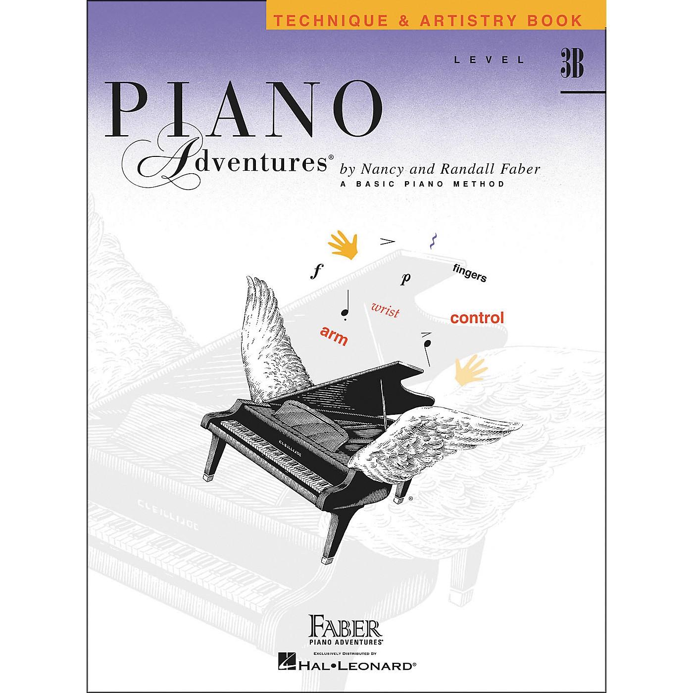Faber Piano Adventures Piano Adventures Technique & Artistry Book Level 3B - Faber Piano thumbnail