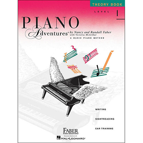 Faber Piano Adventures Piano Adventures Theory Book Level 1-thumbnail
