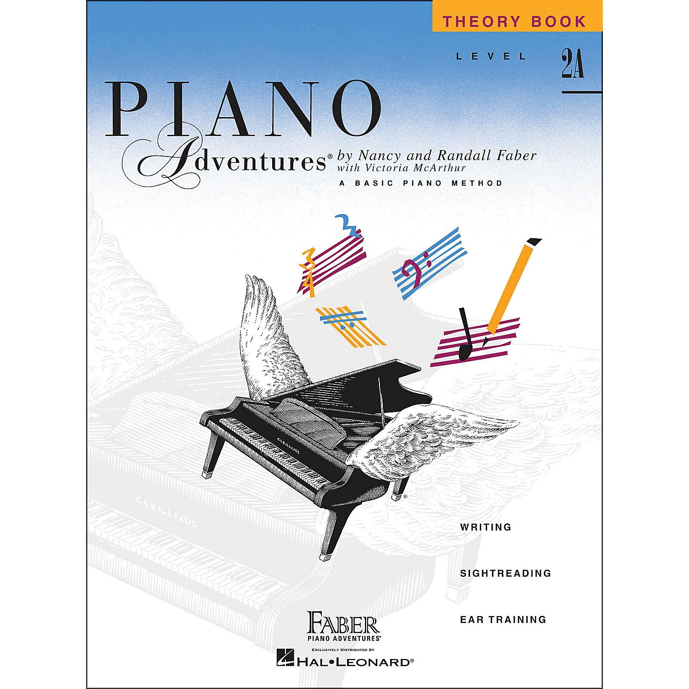 Faber Piano Adventures Piano Adventures Theory Book Level 2A Basic Piano Method thumbnail