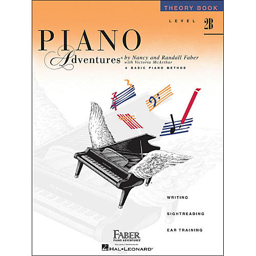 Faber Piano Adventures Piano Adventures Theory Book Level 2B thumbnail