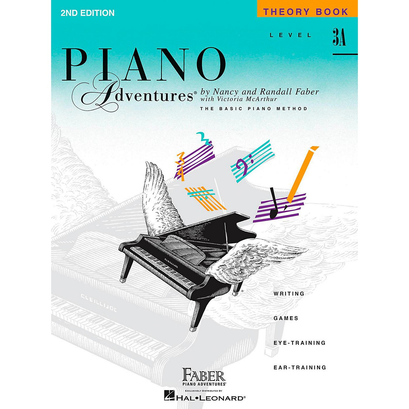 Faber Piano Adventures Piano Adventures Theory Book Level 3A thumbnail