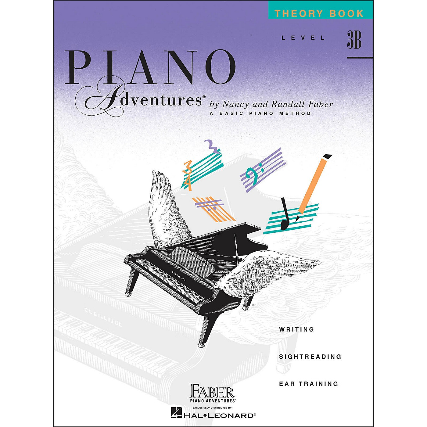 Faber Piano Adventures Piano Adventures Theory Book Level 3B thumbnail