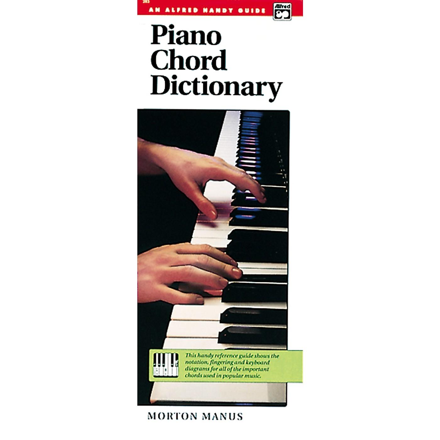 Alfred Piano Chord Dictionary thumbnail