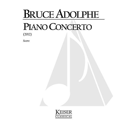 Lauren Keiser Music Publishing Piano Concerto LKM Music Series by Bruce Adolphe thumbnail