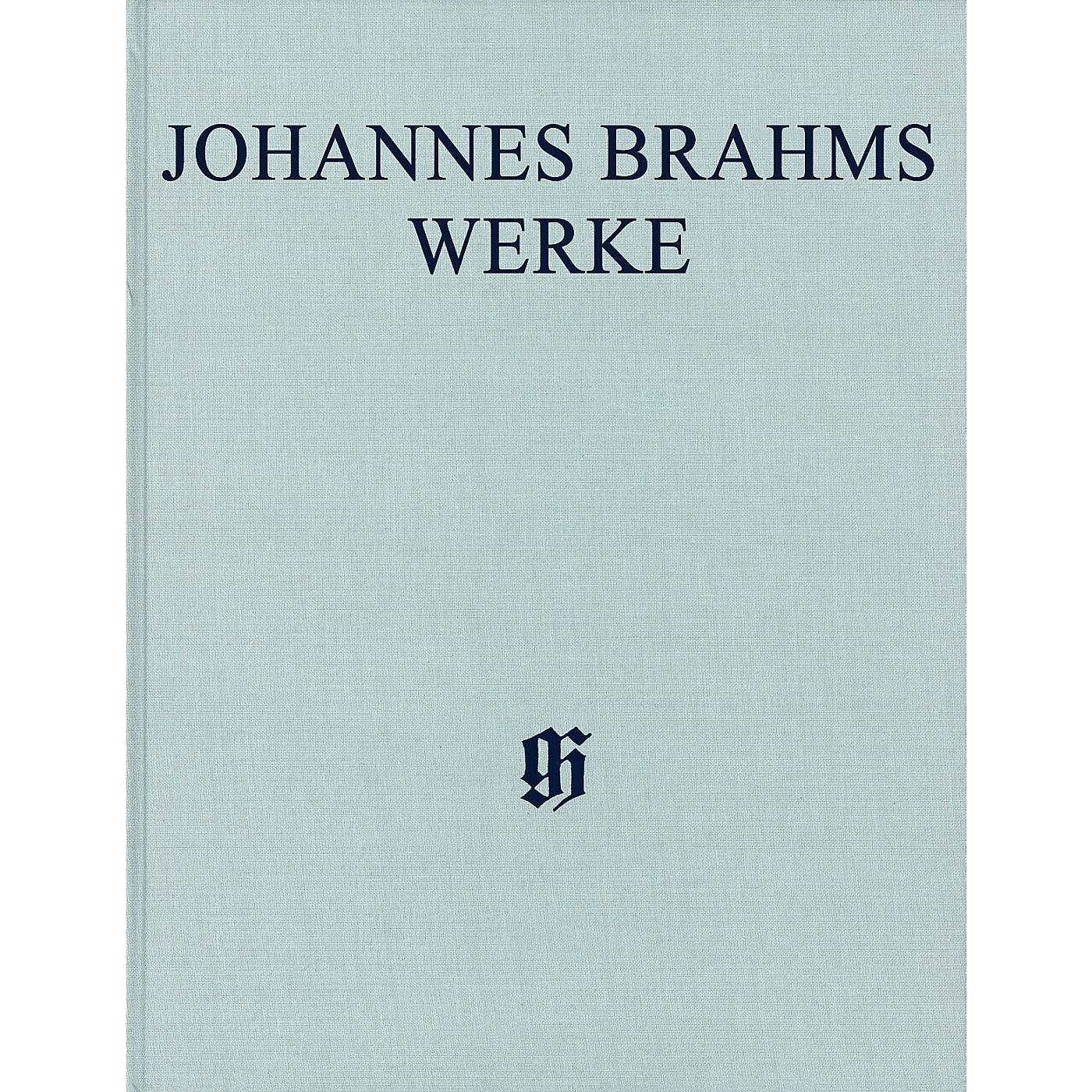 G. Henle Verlag Piano Concerto No. 2 in B-flat Major, Op. 83 Henle Complete Edition Series Hardcover by Johannes Brahms thumbnail