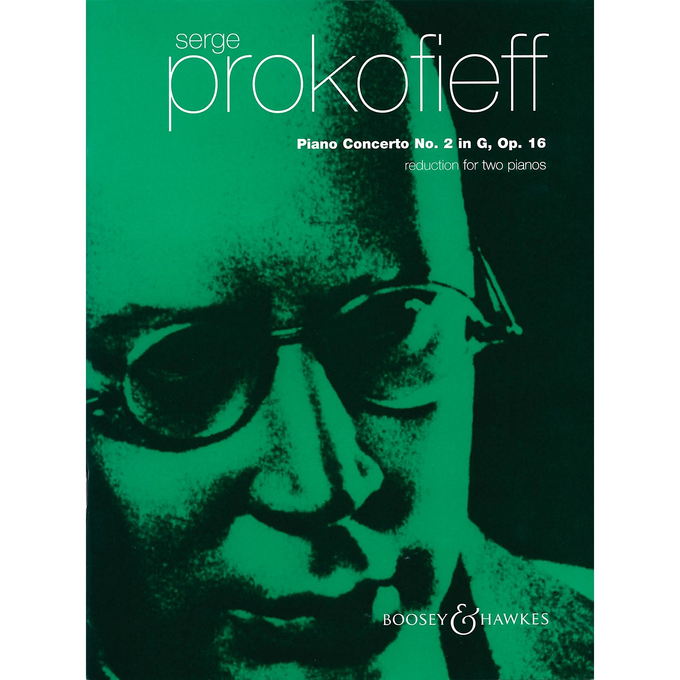 Boosey and Hawkes Piano Concerto No. 2 in G Minor, Op. 16 for Two Pianos by Prokofieff thumbnail