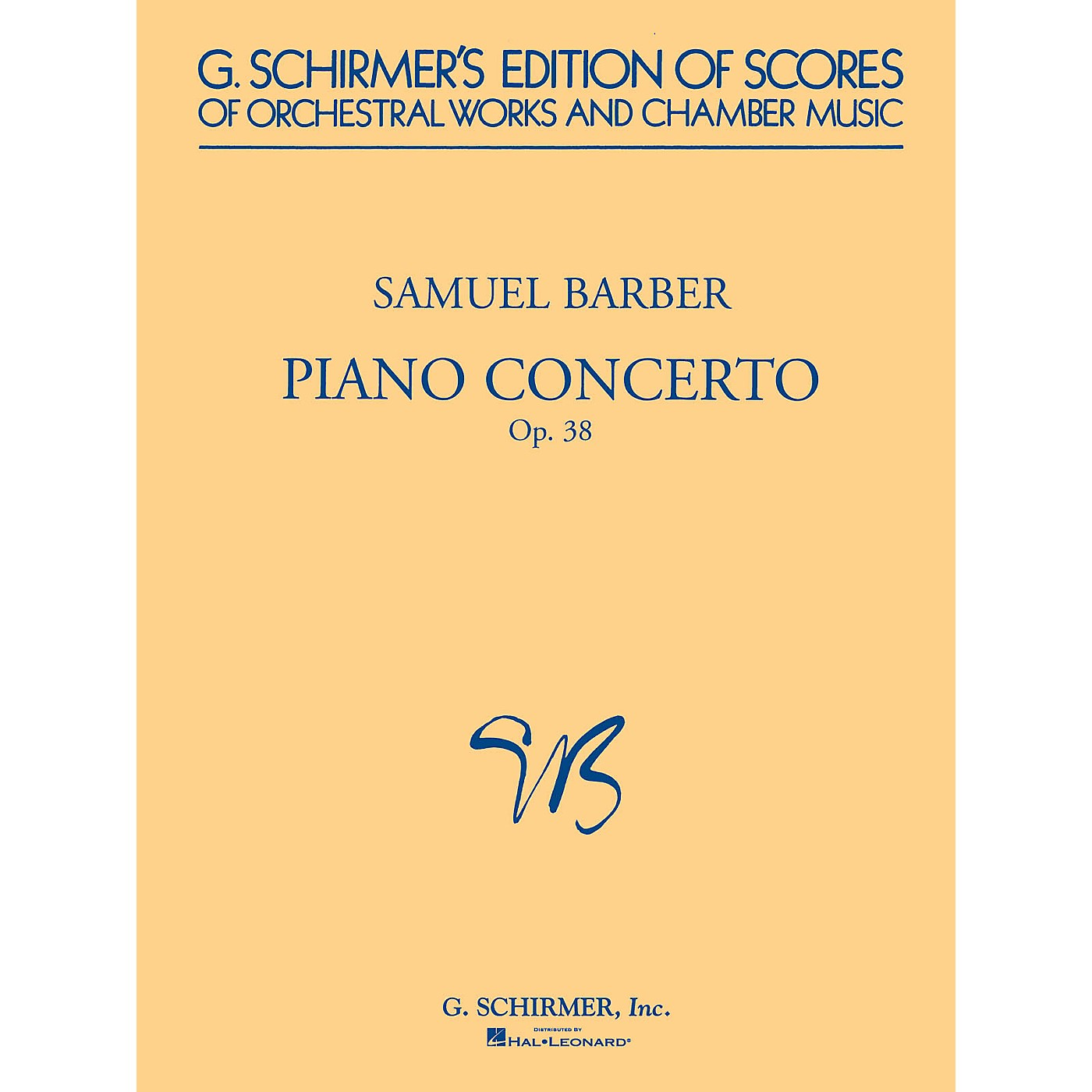 G. Schirmer Piano Concerto, Op. 38 (Study Score) Study Score Series Composed by Samuel Barber thumbnail