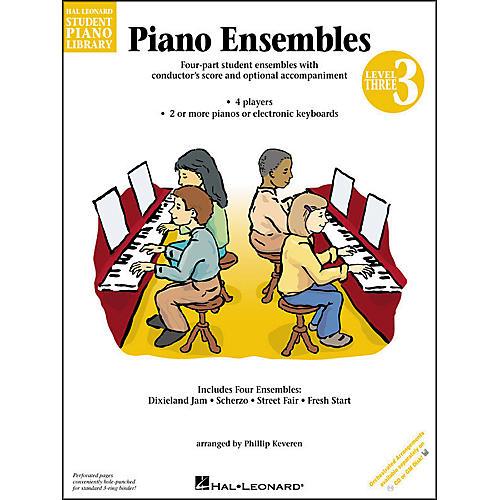 Hal Leonard Piano Ensembles Book 3 Hal Leonard Student Piano Library by Phillip Keveren thumbnail
