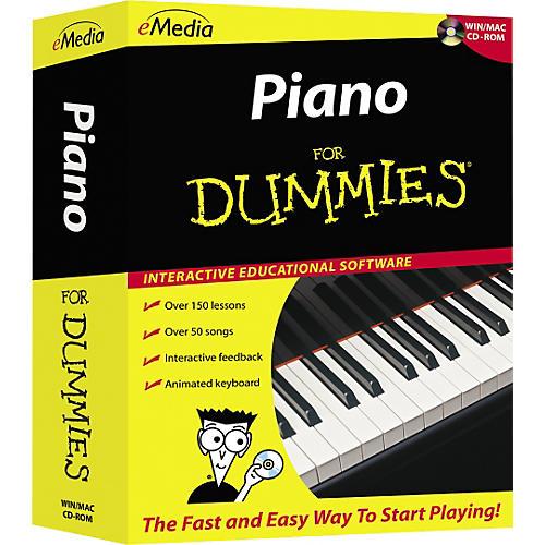 Emedia Piano For Dummies Level 1 (CD-ROM) thumbnail