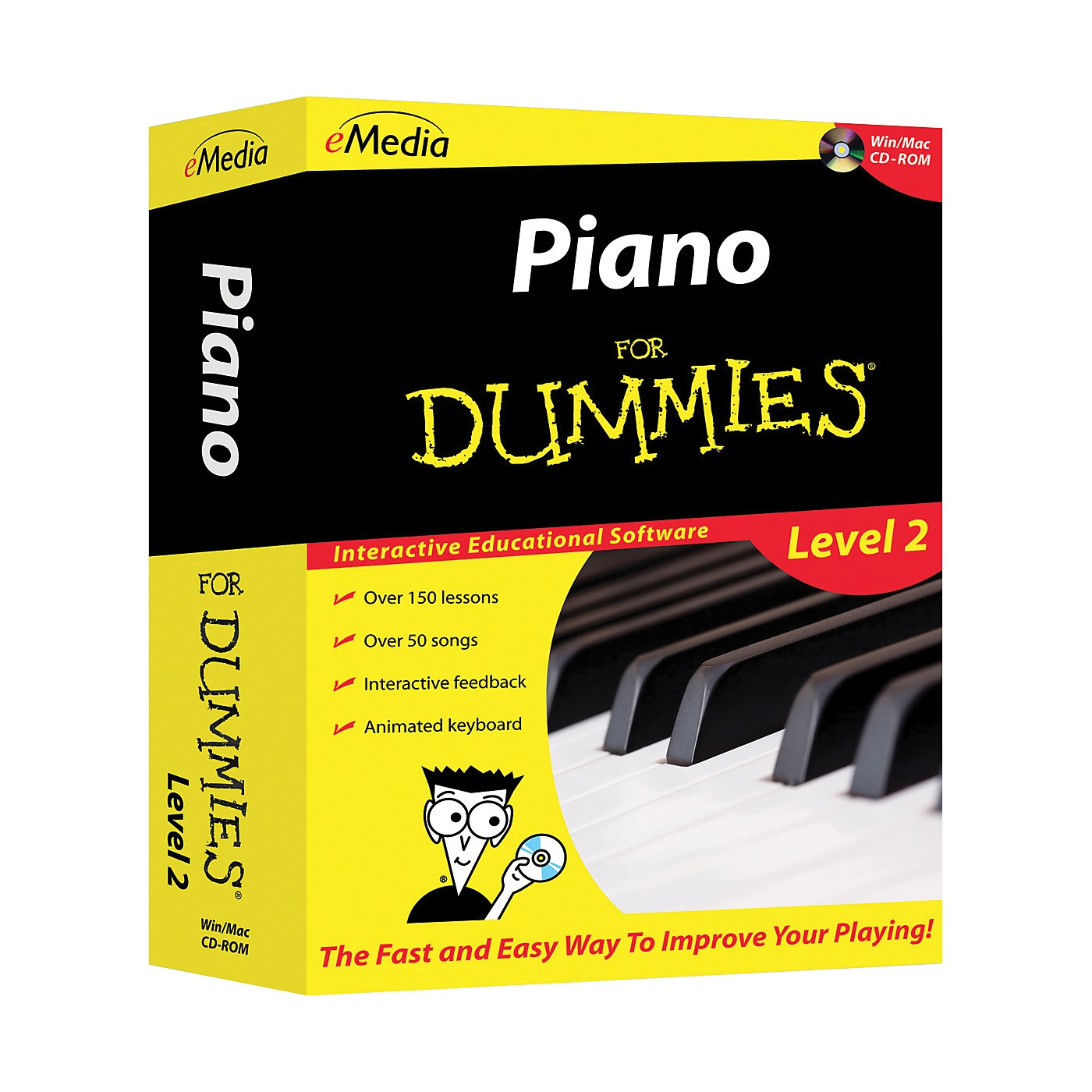 eMedia Piano For Dummies Level 2 - CD-ROM thumbnail