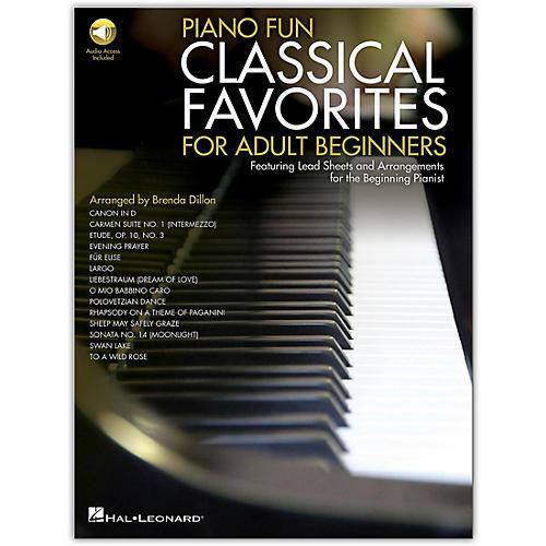 Hal Leonard Piano Fun - Classical Favorites for Adult Beginners Book/Audio Online thumbnail