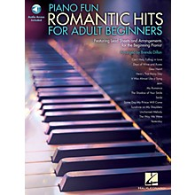 Hal Leonard Piano Fun - Romantic Hits for Adult Beginners Educational Piano Library Series Softcover Audio Online