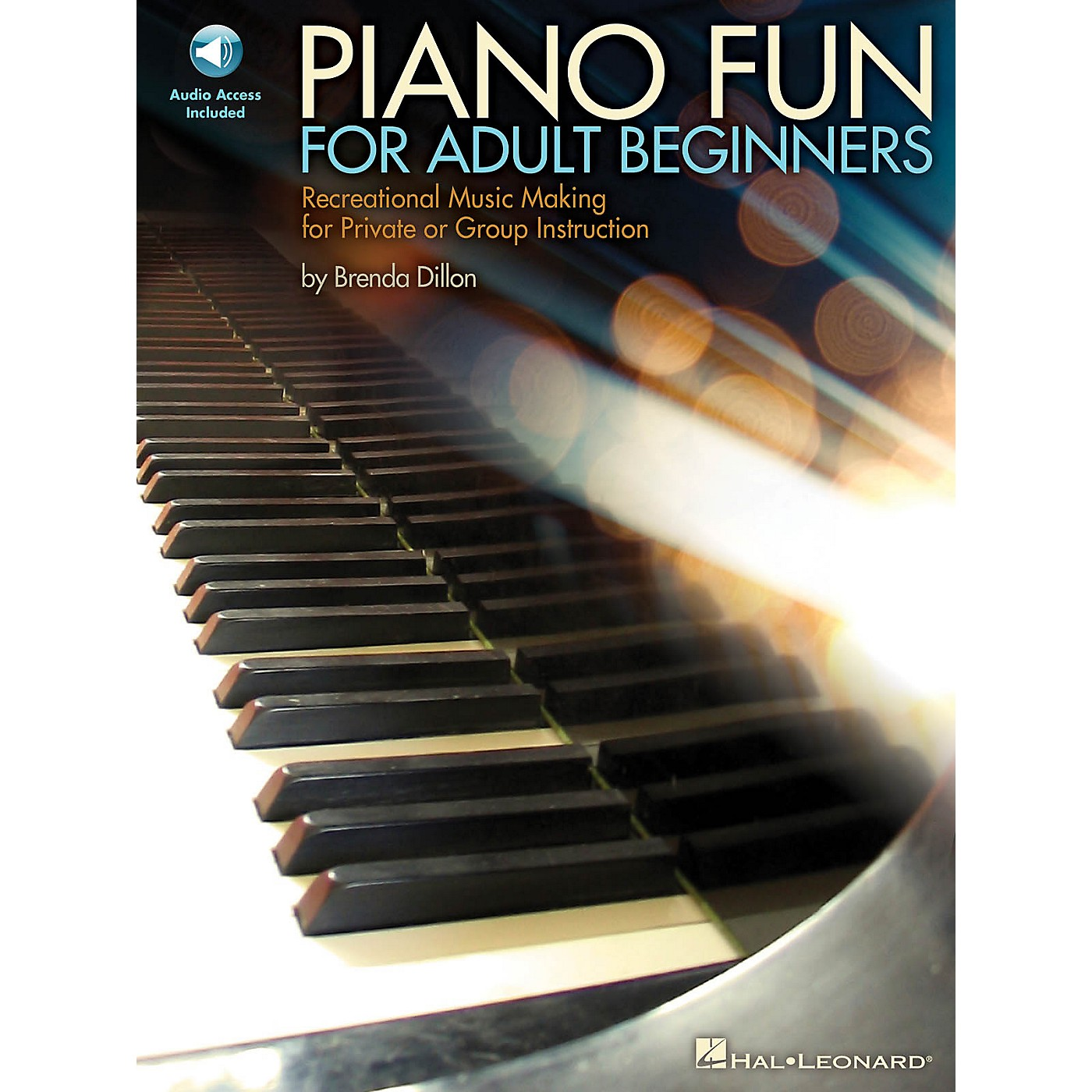 Hal Leonard Piano Fun for Adult Beginners Educational Piano Library Series Softcover Audio Online by Brenda Dillon thumbnail