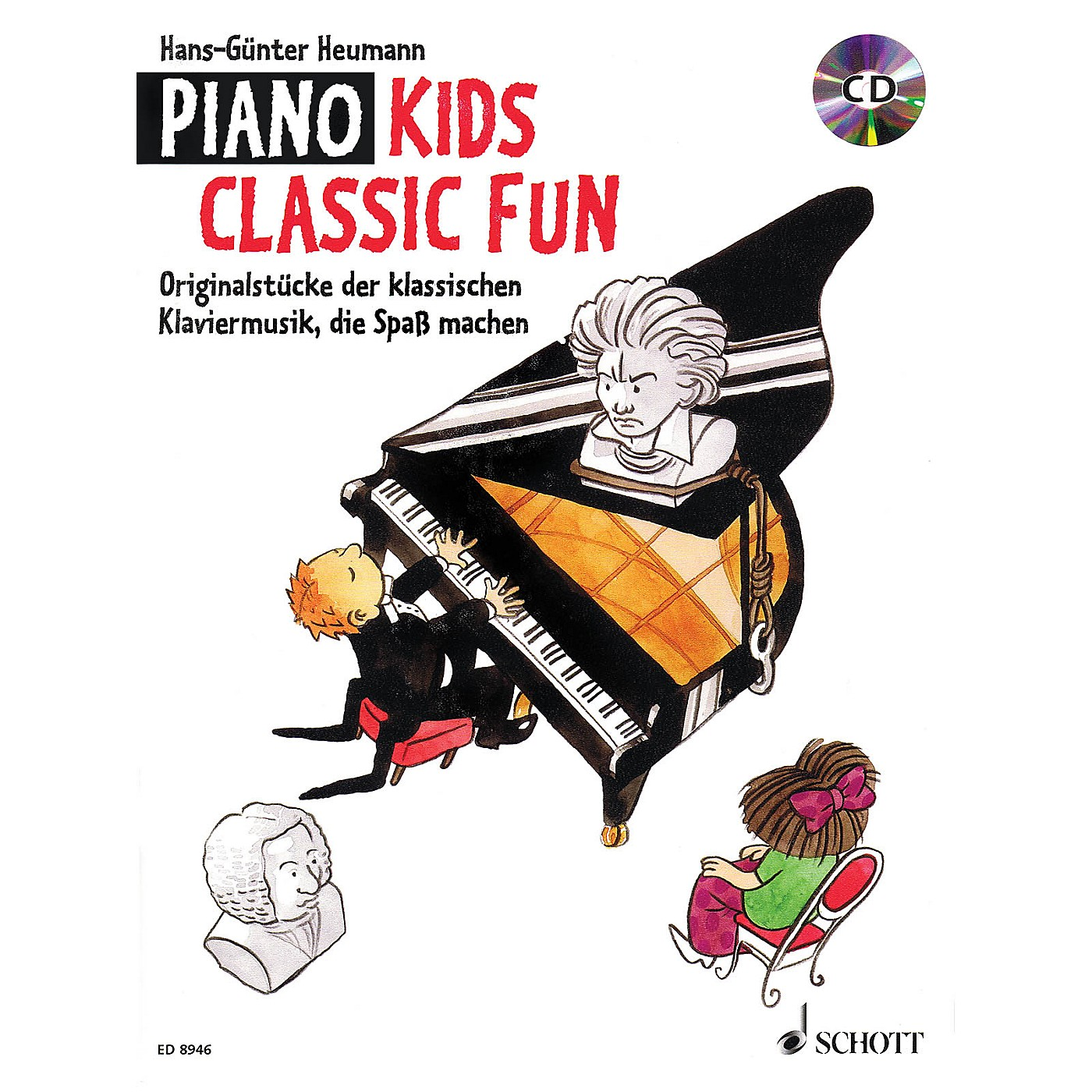 Schott Piano Kids - Classic Fun (With a CD of Performances) Schott Series Softcover with CD thumbnail