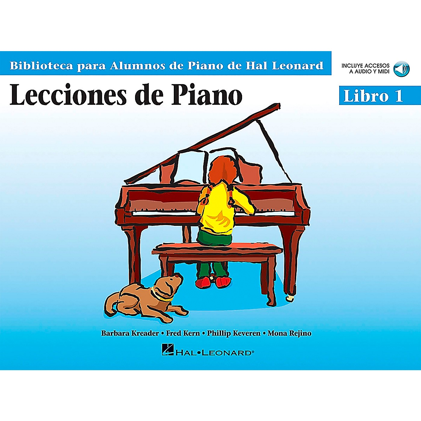 Hal Leonard Piano Lessons Book 1 Book/CD Package - Spanish Edition thumbnail