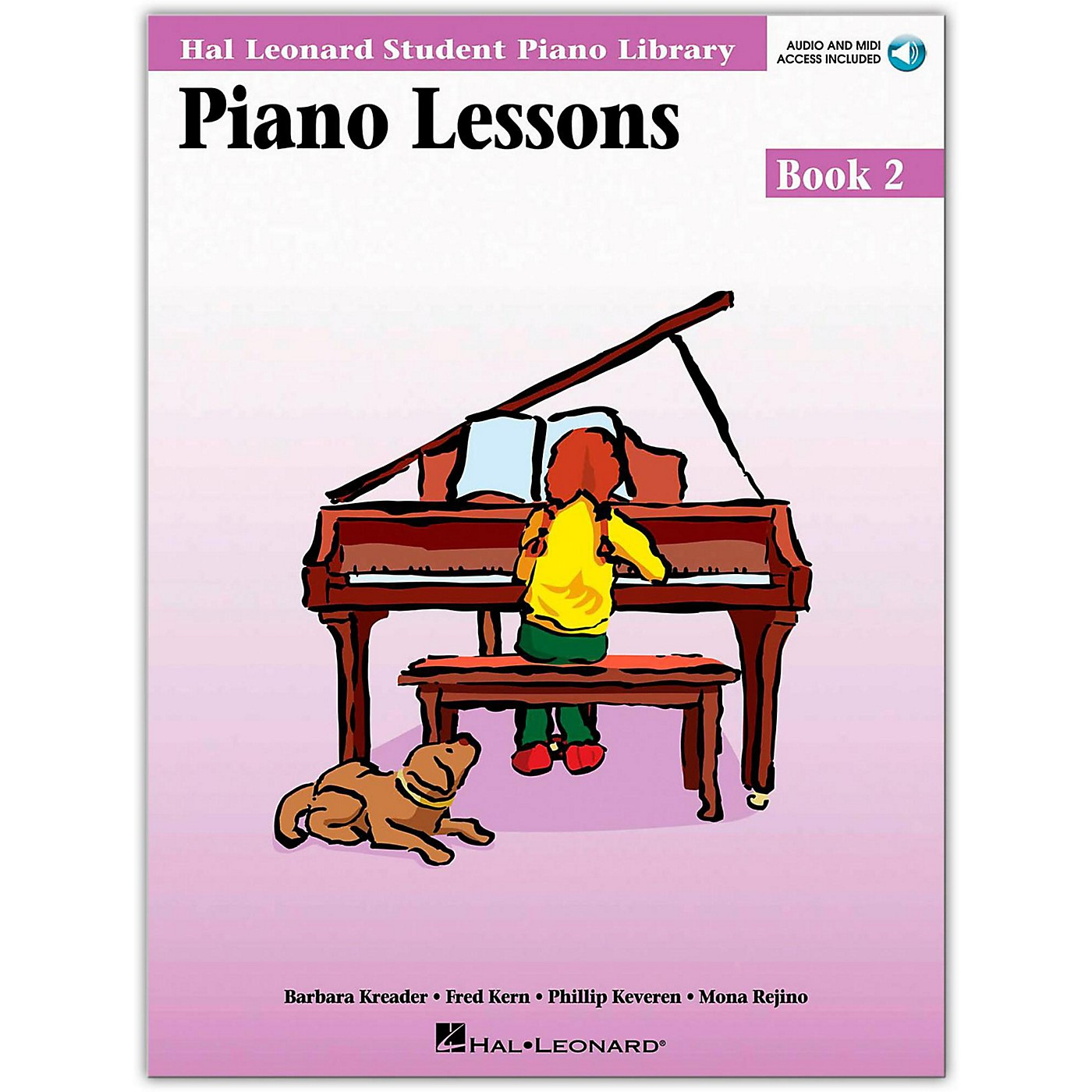 Hal Leonard Piano Lessons Book 2 Book/Online Audio Package thumbnail