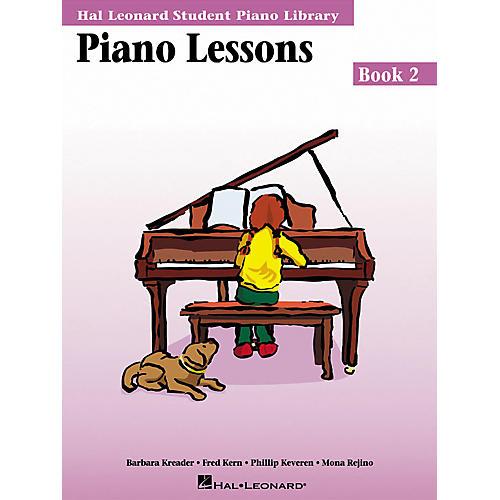 Hal Leonard Piano Lessons Book 2 Hal Leonard Student Piano Library-thumbnail