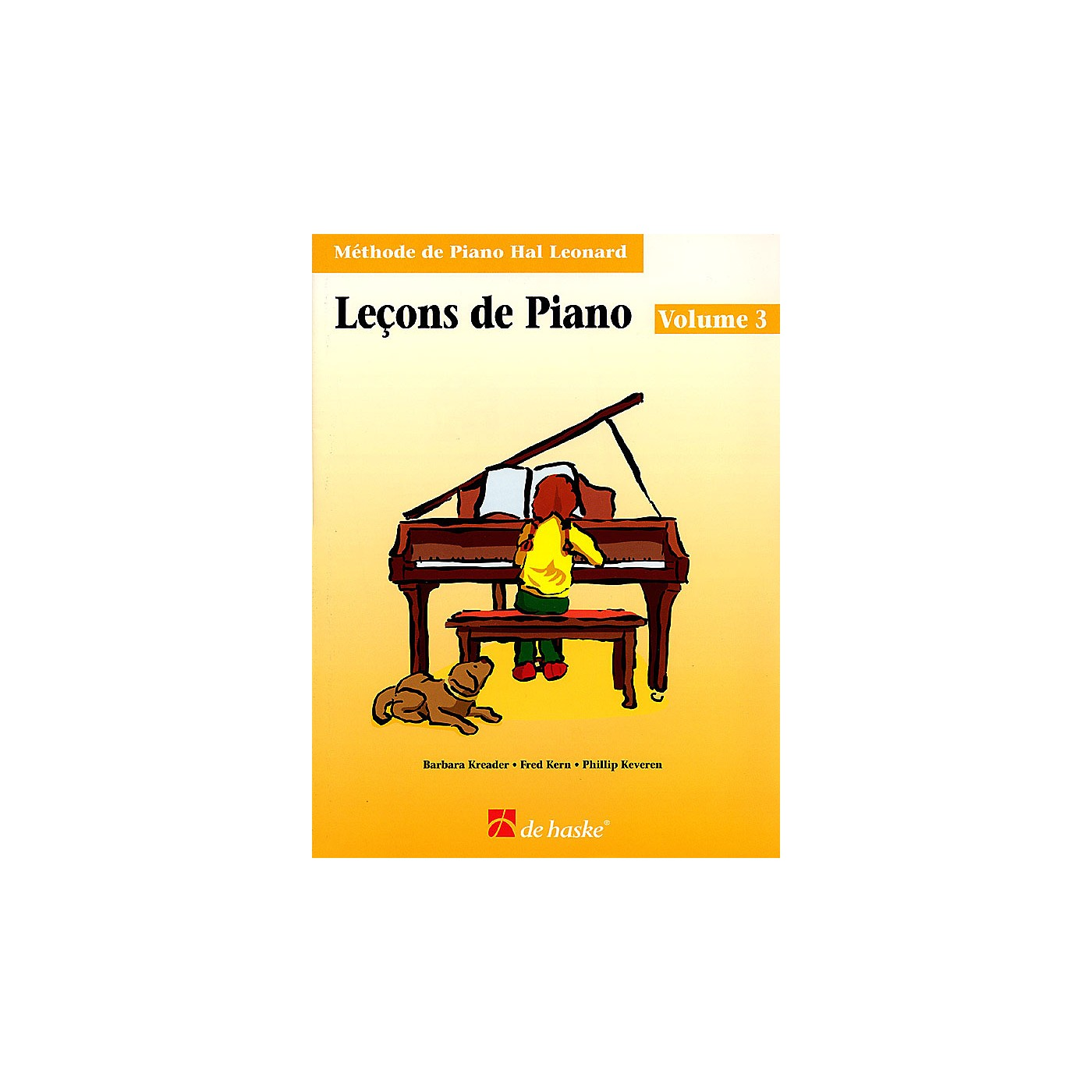 Hal Leonard Piano Lessons Book 3 - French Edition Education Piano Lib French Ed Series Written by Barbara Kreader thumbnail