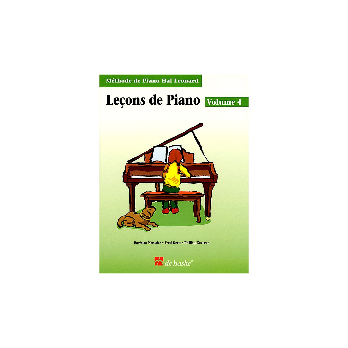 Hal Leonard Piano Lessons Book 4 - French Edition Education Piano Lib French Ed Series Written by Barbara Kreader thumbnail