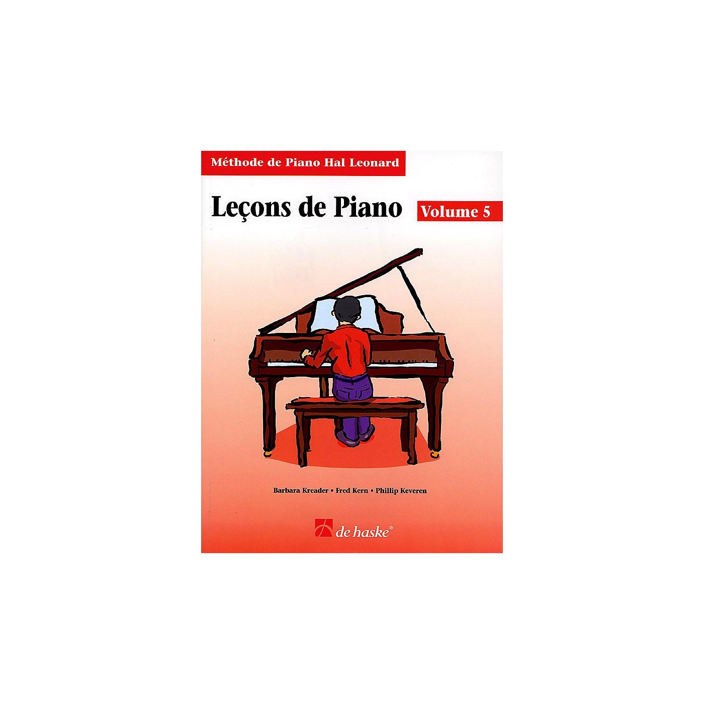 Hal Leonard Piano Lessons Book 5 - French Edition Education Piano Lib French Ed Series Written by Barbara Kreader thumbnail
