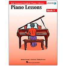 Hal Leonard Piano Lessons Book 5 Book/CD Package Hal Leonard Student Piano Library