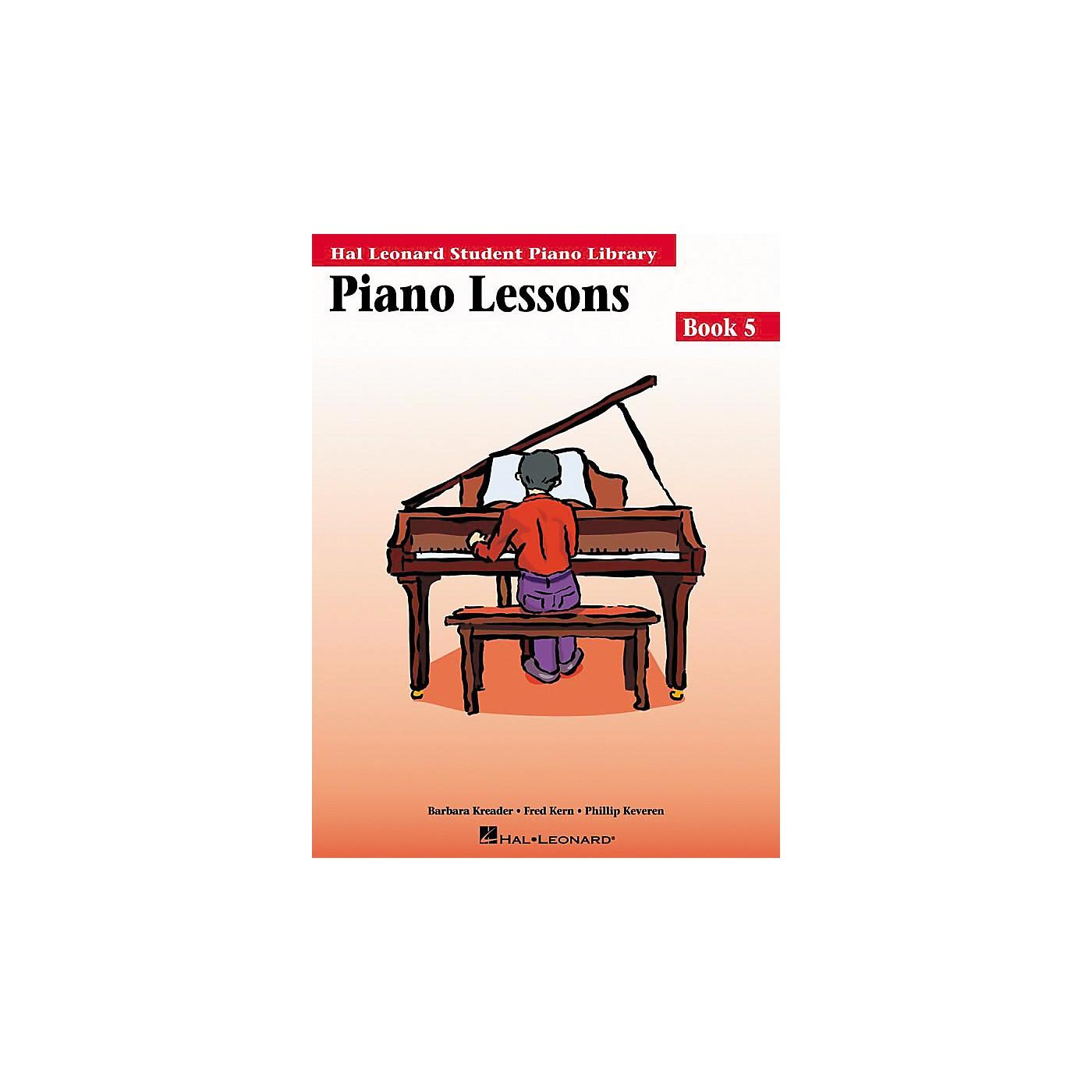 Hal Leonard Piano Lessons Book 5 Hal Leonard Student Piano Library thumbnail