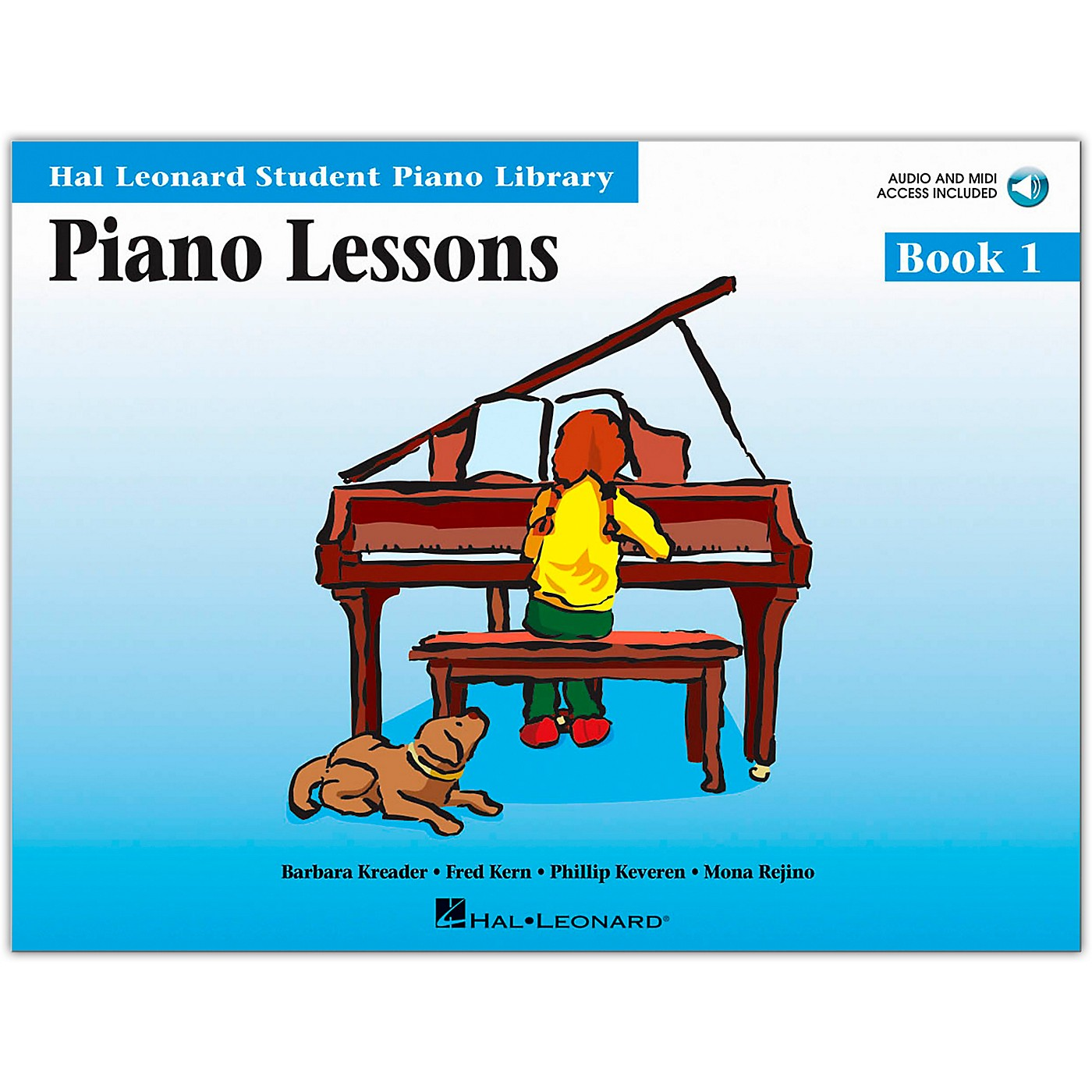 Hal Leonard Piano Lessons Book/Online Audio 1 Book/Online Audio thumbnail