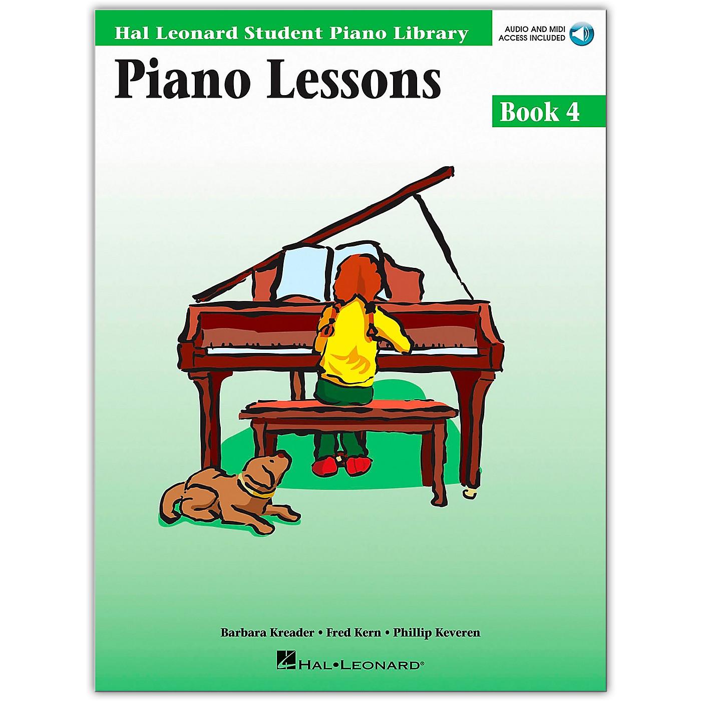 Hal Leonard Piano Lessons Book/Online Audio 4 Package Hal Leonard Student Piano Library Book/Online Audio thumbnail