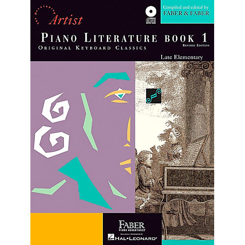 Faber Piano Adventures Piano Literature - Book 1 Developing Artist Original Keyboard Classics Book with CD thumbnail