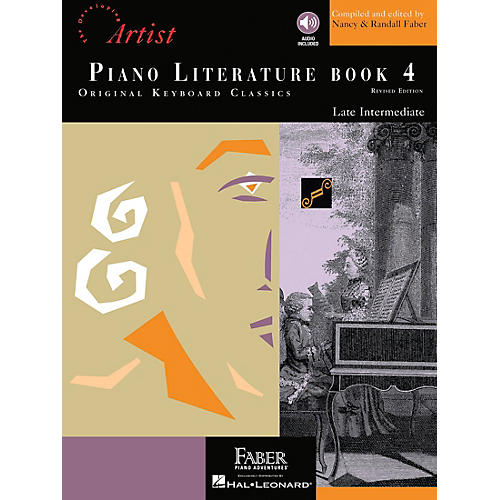 Faber Piano Adventures Piano Literature - Book 4 Developing Artist Original Keyboard Classics Book with CD thumbnail