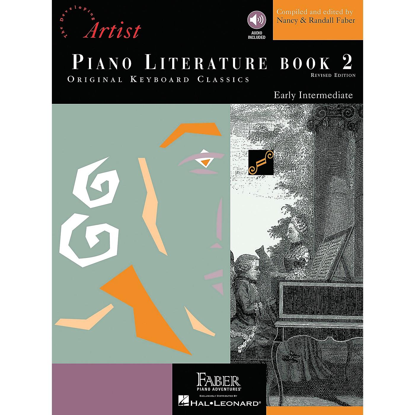 Faber Piano Adventures Piano Literature Book 2 - Developing Artist Original Keyboard Classics Book/CD - Faber Piano thumbnail