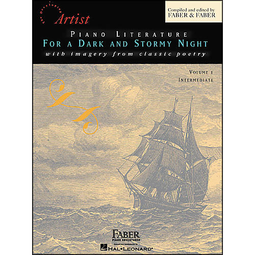 Faber Piano Adventures Piano Literature for A Dark And Stormy Night Volume 1 Intermediate Book - Faber Piano thumbnail
