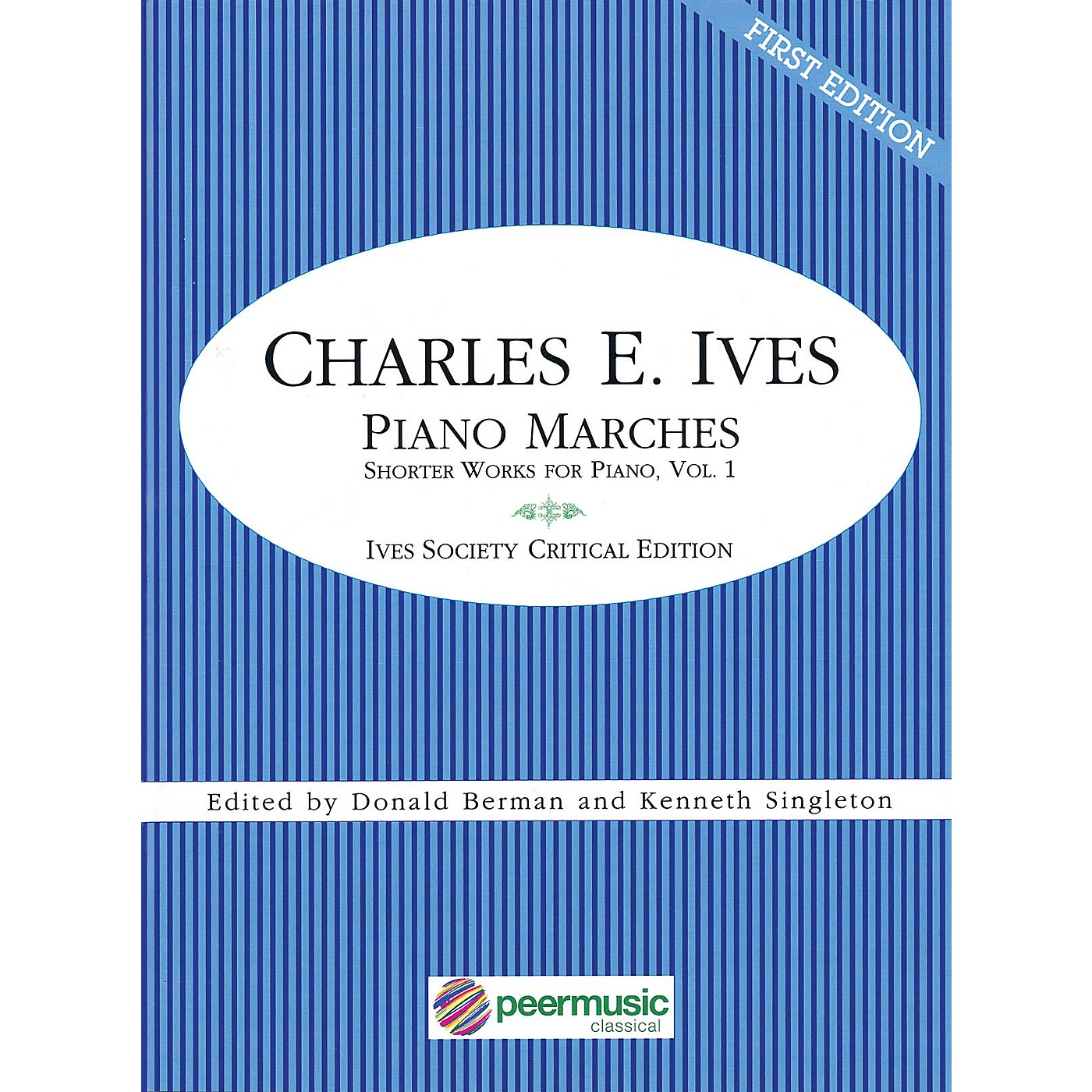 Peer Music Piano Marches (Short Works for Piano, Vol. 1) Peermusic Classical Series Softcover by Charles Ives thumbnail