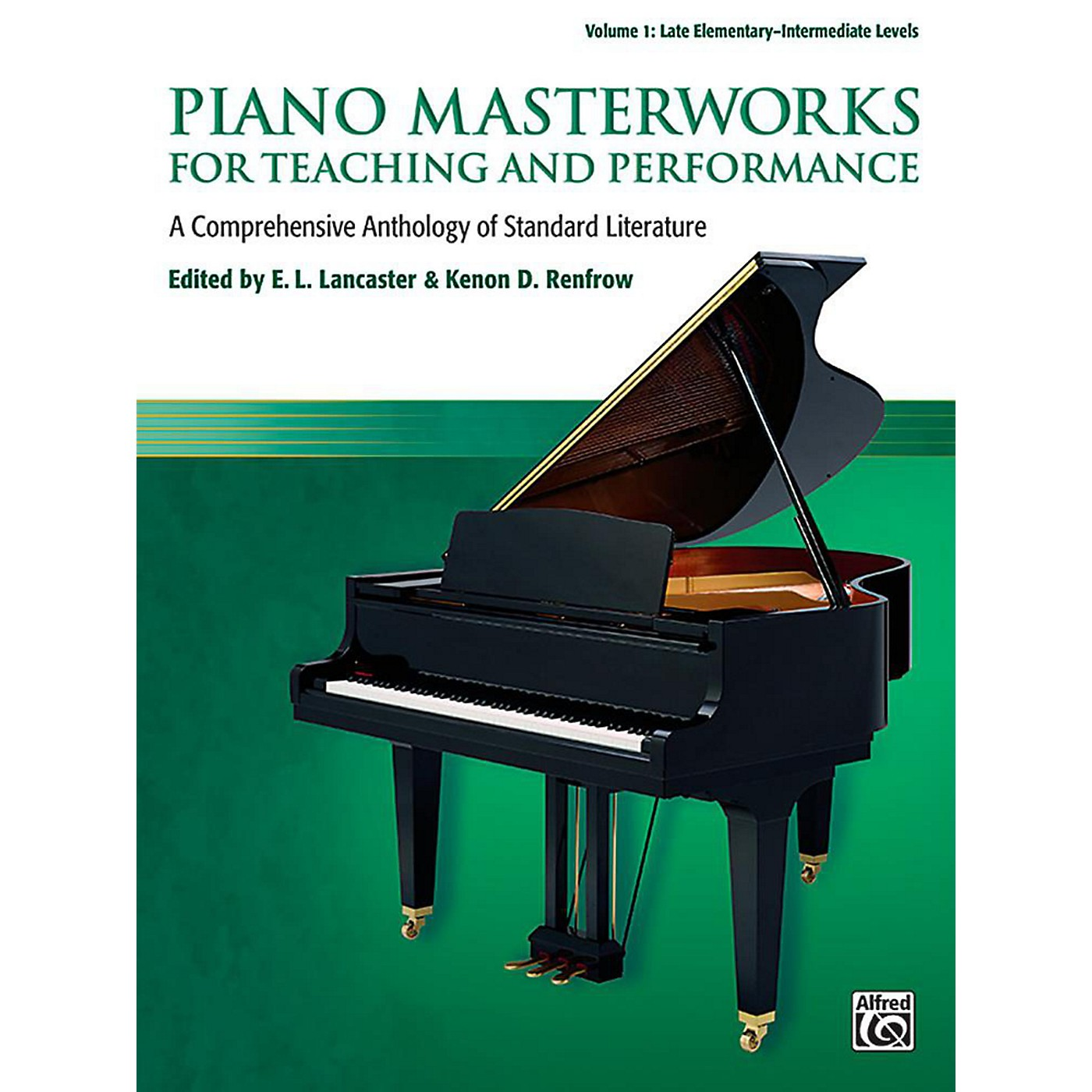 Alfred Piano Masterworks for Teaching and Performance, Volume 1 - Late Elementary / Intermediate thumbnail
