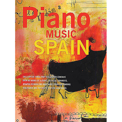 Music Sales Piano Music Of Spain: Volumes One To Three Music Sales America Series thumbnail