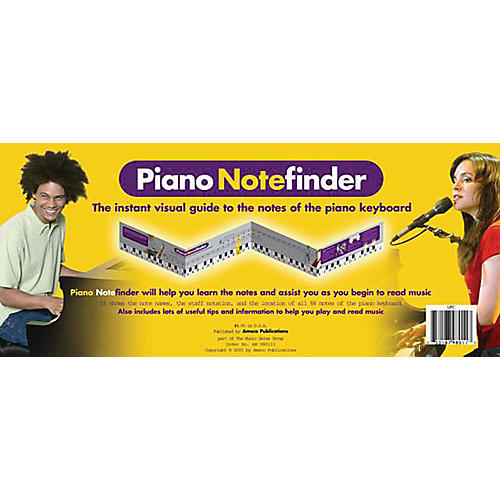 Music Sales Piano Notefinder: Visual Keyboard Guide Music Sales America Series Softcover thumbnail