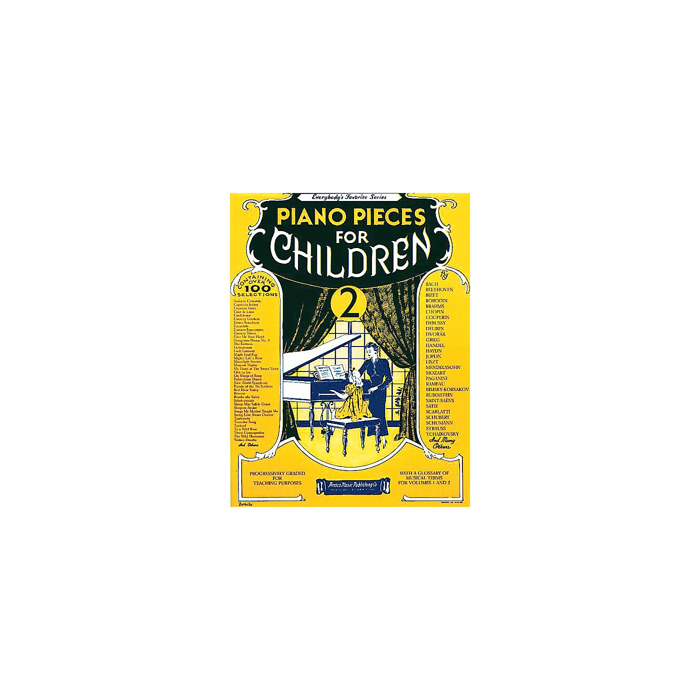 Music Sales Piano Pieces for Children - Volume 2 Music Sales America Series Softcover thumbnail