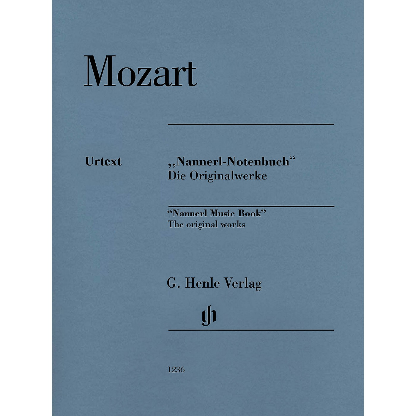 G. Henle Verlag Piano Pieces from the Nannerl Music Book Henle Music Folios Series Softcover thumbnail
